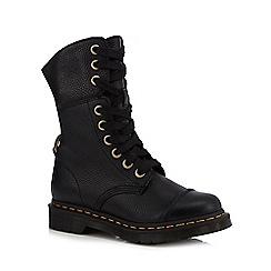 Dr Martens - Black 'Aimilita' lace up boots