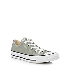 Converse - Khaki Canvas 'Chuck Taylor All Star' Trainers