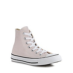Converse - Rose Canvas 'Chuck Taylor All Star' Hi-Top Trainers
