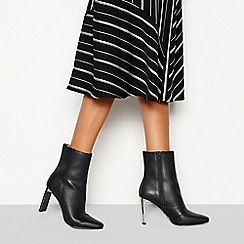 Faith - Black 'Betty' high heel boots