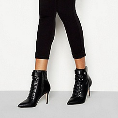 Faith - Black 'Bace' stiletto heel boots