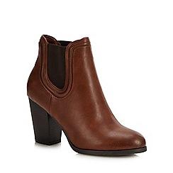 Call It Spring - Tan 'Wicorerith' Block Heel Chelsea Boots