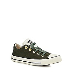 Converse - Green Canvas 'CTAS Madison' Trainers