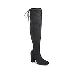 0f259efe12b Simply Be - Black Wide Fit  Sam  Standard Calf Over The Knee Boots