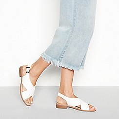 Faith - White 'Josh' sandals
