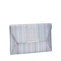 Faith - Multicoloured Glimmer 'Party' Envelope Clutch Bag