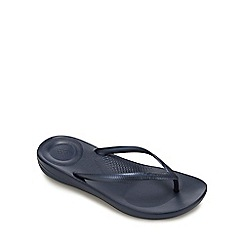 FitFlop - Navy 'Iqushion' Flip Flops