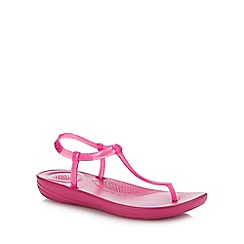 FitFlop - Pink 'Iqushion - Splash' Flip Flops