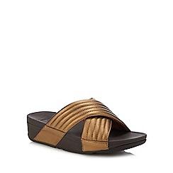 FitFlop - Bronze 'Lulu' Sandals