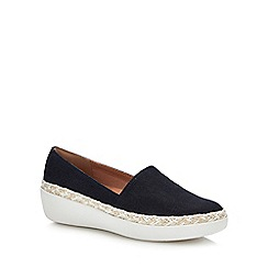 FitFlop - Blue 'Casa Denim' Slip-On Shoes