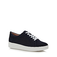 FitFlop - Blue 'Rally - Denim' Trainers