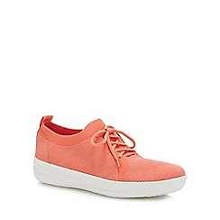 FitFlop - Coral 'Sporty Uberknit' Trainers