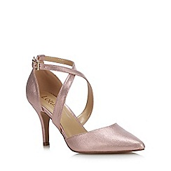 Lotus - Pink Metallic 'Justine' High Stiletto Heel Pointed Shoes