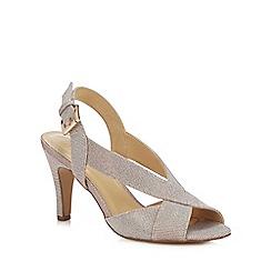 Lotus - Pink 'Endive' High Stiletto Heel Peep Toe Shoes