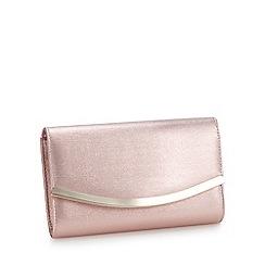 Lotus - Metallic Pink Handbag