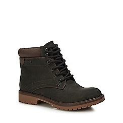 Call It Spring - Dark Green 'Sonney' Block Heel Boots