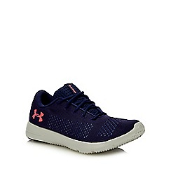 Under Armour - Navy Knitted 'Rapid' Trainers
