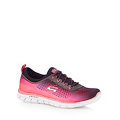 Skechers - Pink 'Glider Fearless' trainers