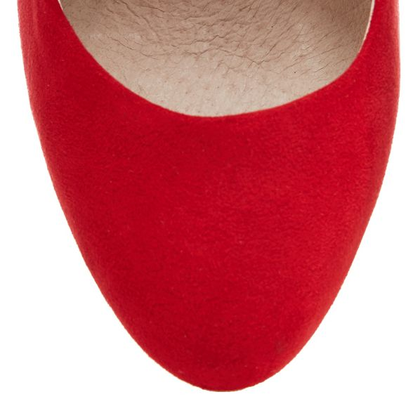 heel Red court fit wide high shoes Faith 'Candy' ZzanR6wR8