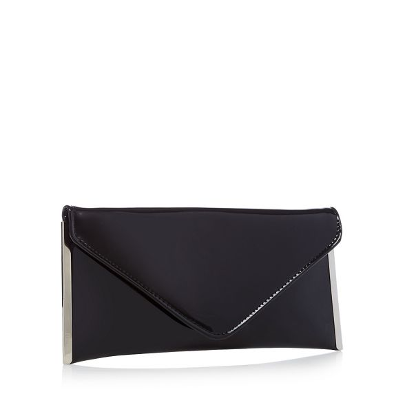 bag envelope Black clutch patent 'Promise' Faith xw84XvYSq