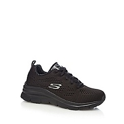 Skechers - Black fashion fit trainers