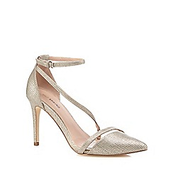 Call It Spring - Silver 'Edoenia' high stiletto heel pointed shoes