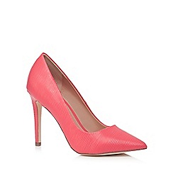 Call It Spring - Peach 'Gwydda' high stiletto heel pointed shoes
