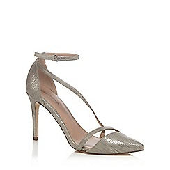 Call It Spring - Snakeskin effect 'Edoenia' high stiletto heel ankle strap sandals