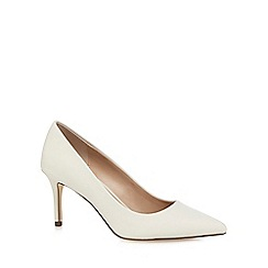 Call It Spring - White 'Fririen' high heel court shoes