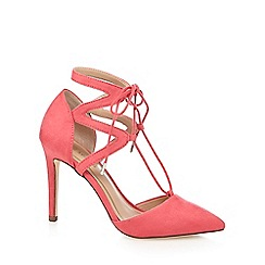 Call It Spring - Pink 'Legelari' high stiletto heel pointed shoes