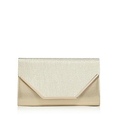 Call It Spring - Gold 'Sanluca' clutch bag