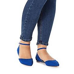 Faith - Blue 'Ali' suede shoes