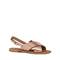 Faith - Rose pink 'Jake' slingback sandals