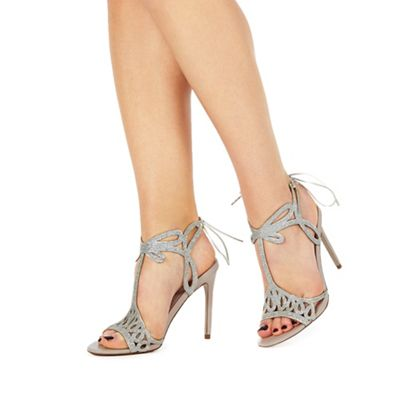 2b703cec1ff4 Faith Natural  Fizz  high stiletto heel peep toe sandals
