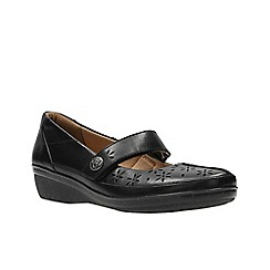 Clarks - Black Leather'  EVERLAY BAI'  Mary Jane flats