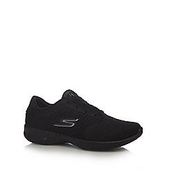 Skechers - Black 'GOwalk 4 - Exceed' trainers