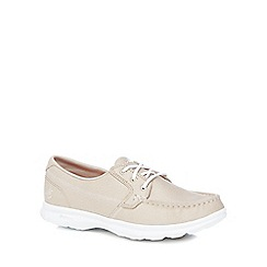 Skechers - Natural 'Go Step - Riptide' trainers