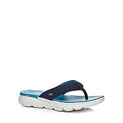 Skechers - Blue 'On The Go' flip flops