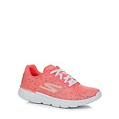 Skechers - Pink 'Go Run' trainers