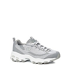 Skechers - Grey 'D'lites' trainers
