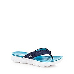 Skechers - Navy 'Vivacity' sandals