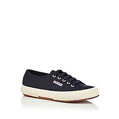 Superga - Navy 'Cotu Classic' trainers