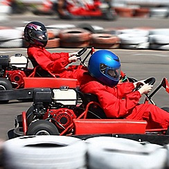 Activity Superstore - 50 Lap Karting gift experience for 2