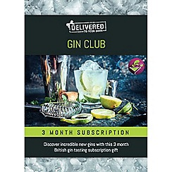 Activity Superstore - Gin Club gift experience subscription