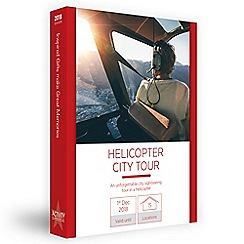 Activity Superstore - Helicopter City Tour gift experience