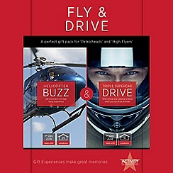 Activity Superstore - Fly and Drive gift experience