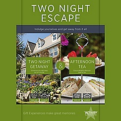 Activity Superstore - Two Night Escape with Afternoon Tea gift experience for 2