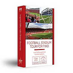 Activity Superstore - Football stadium gift experience for 2
