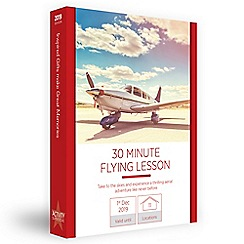 Activity Superstore - 30 minute flying lesson gift experience