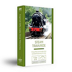Activity Superstore - Steam train gift experience for 2